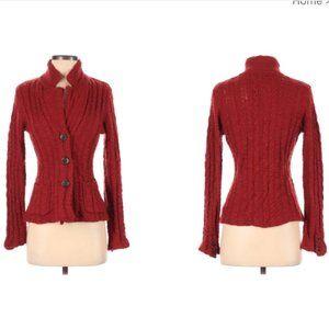 Anthropologie wool button down cardigan